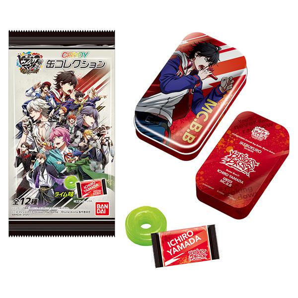 【食玩】『ヒプノシスマイク-Division Rap Battle- Rhyme Anima キャンディ缶コレクション』12個入りBOX