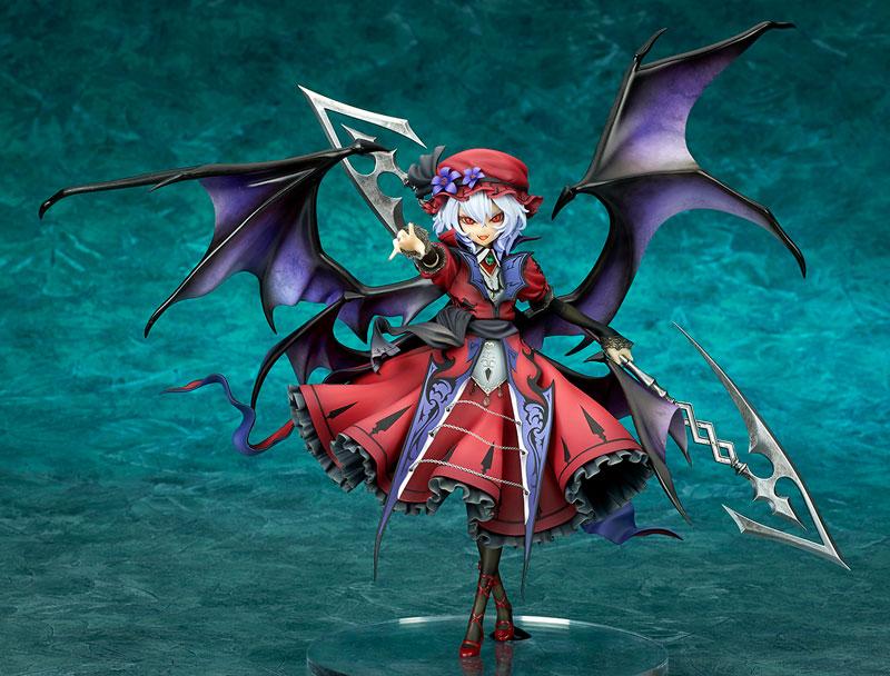 【限定販売】東方Project『レミリア・スカーレット 紅魔城伝説版 エクストラカラー[BLOOD MOON]』1/8 完成品フィギュア-001