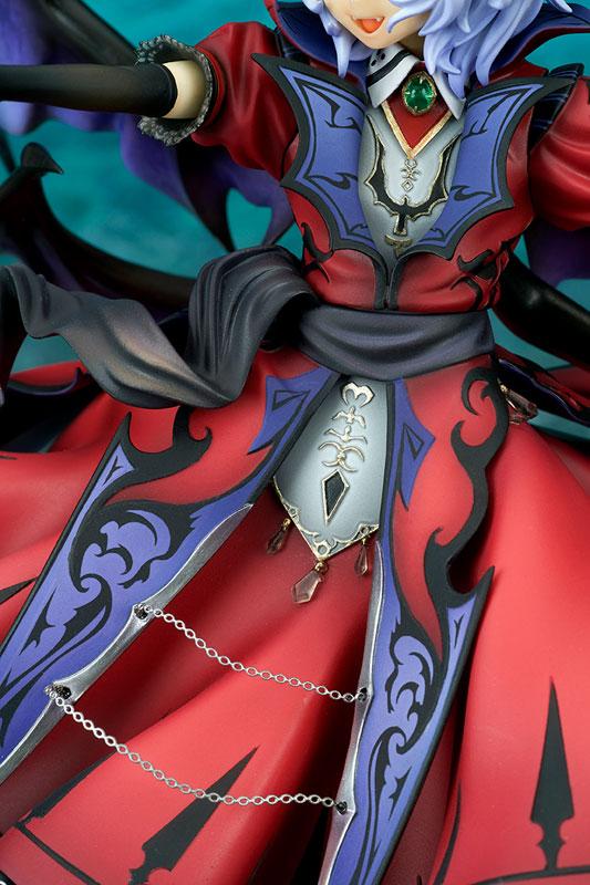 【限定販売】東方Project『レミリア・スカーレット 紅魔城伝説版 エクストラカラー[BLOOD MOON]』1/8 完成品フィギュア-008