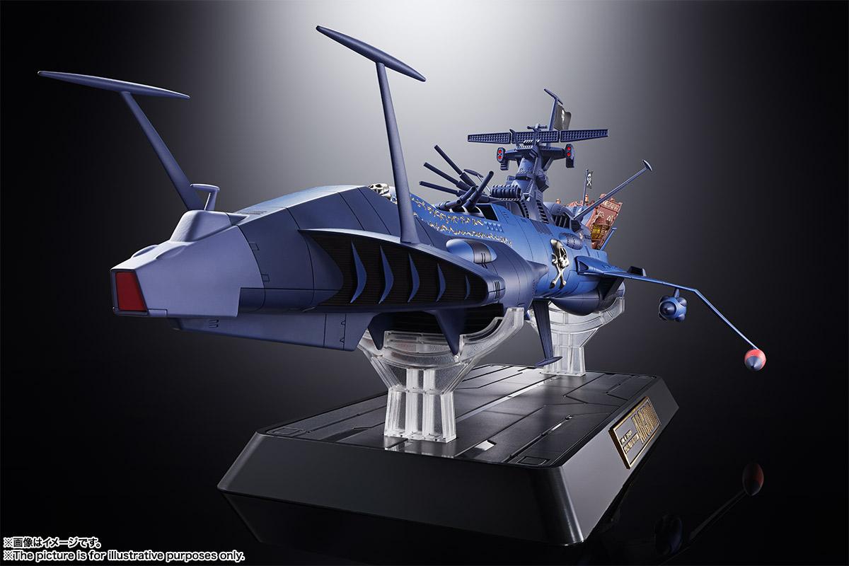 超合金魂『GX-93 宇宙海賊戦艦 アルカディア号』宇宙海賊キャプテンハーロック 可動モデル-002