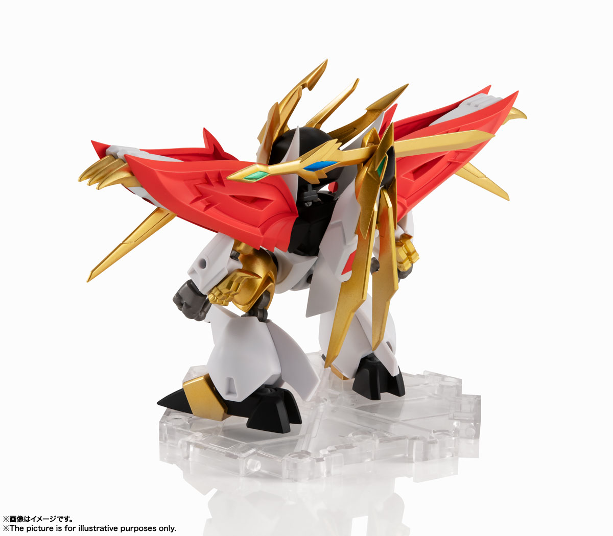 NXEDGE STYLE[MASHIN UNIT]『煌龍丸』魔神英雄伝ワタル 可動フィギュア-002