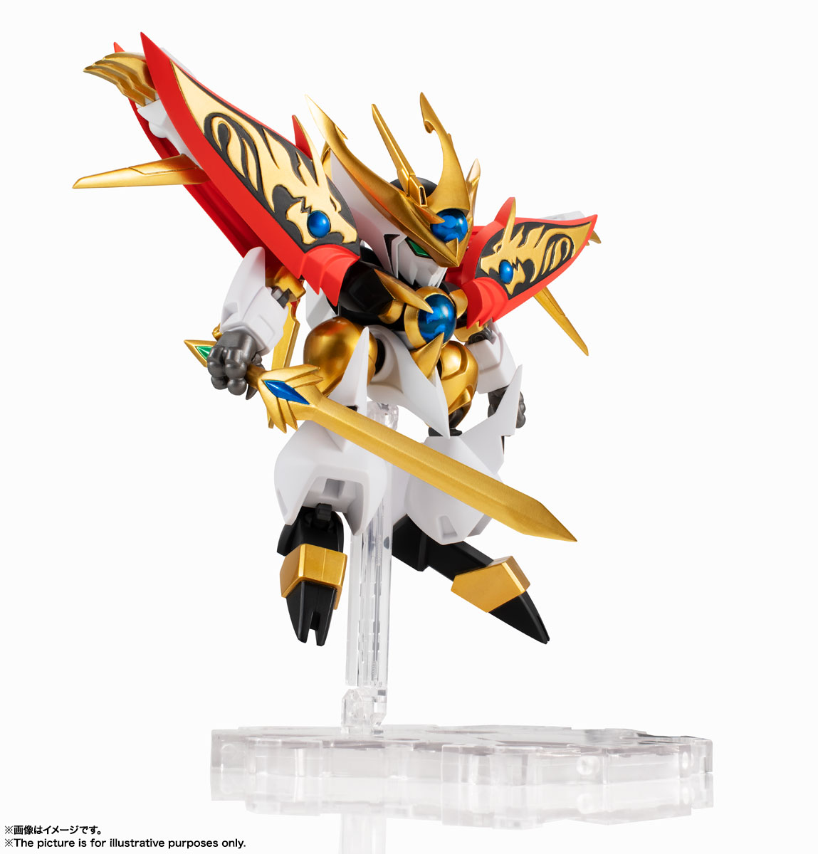 NXEDGE STYLE[MASHIN UNIT]『煌龍丸』魔神英雄伝ワタル 可動フィギュア-004