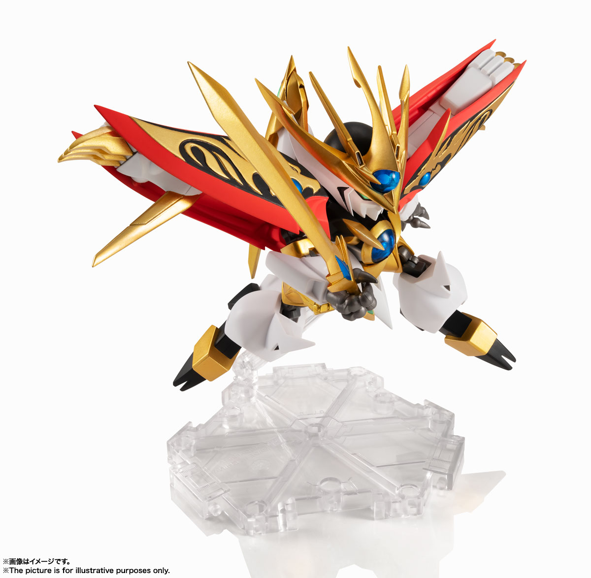 NXEDGE STYLE[MASHIN UNIT]『煌龍丸』魔神英雄伝ワタル 可動フィギュア-011