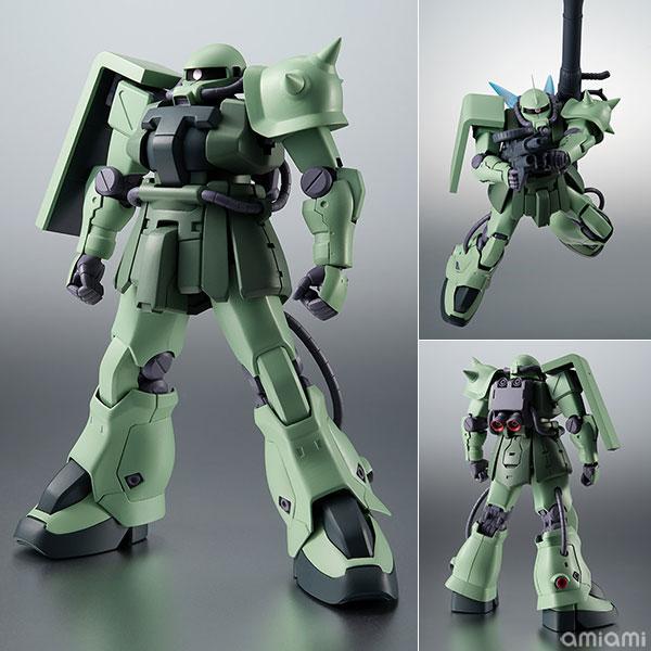 ROBOT魂〈SIDE MS〉『MS-06F-2 ザクII F2型 ver. A.N.I.M.E.』機動戦士ガンダム0083 可動フィギュア