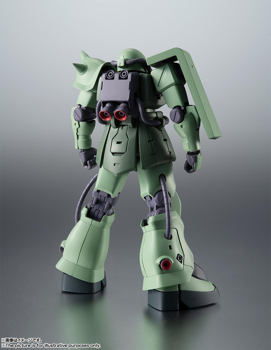 ROBOT魂〈SIDE MS〉『MS-06F-2 ザクII F2型 ver. A.N.I.M.E.』機動戦士ガンダム0083 可動フィギュア-002
