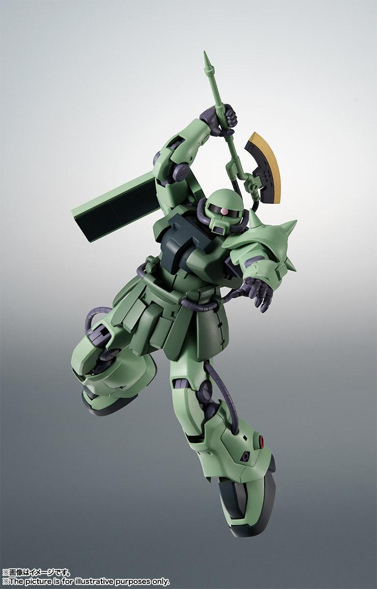 ROBOT魂〈SIDE MS〉『MS-06F-2 ザクII F2型 ver. A.N.I.M.E.』機動戦士ガンダム0083 可動フィギュア-003