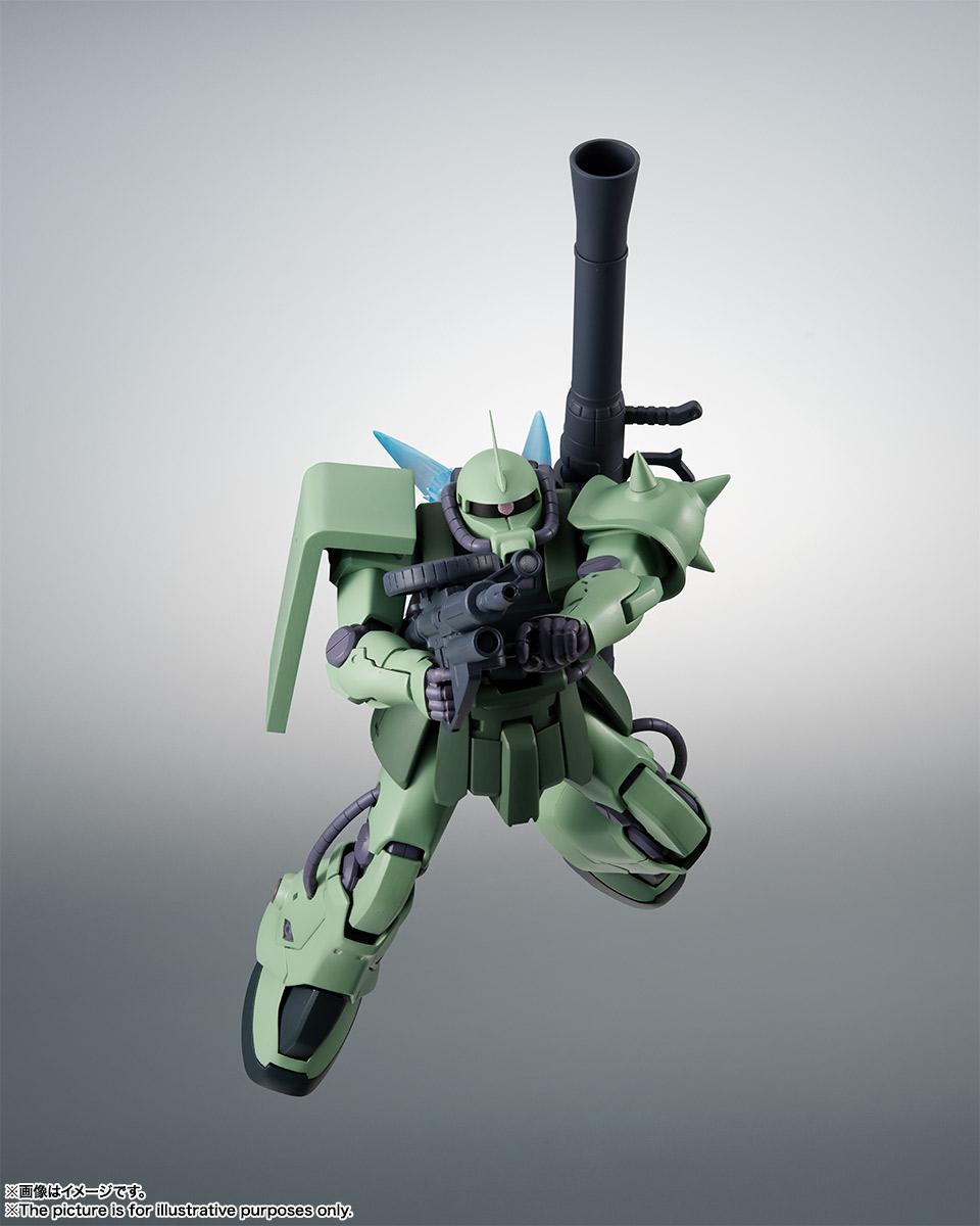 ROBOT魂〈SIDE MS〉『MS-06F-2 ザクII F2型 ver. A.N.I.M.E.』機動戦士ガンダム0083 可動フィギュア-004