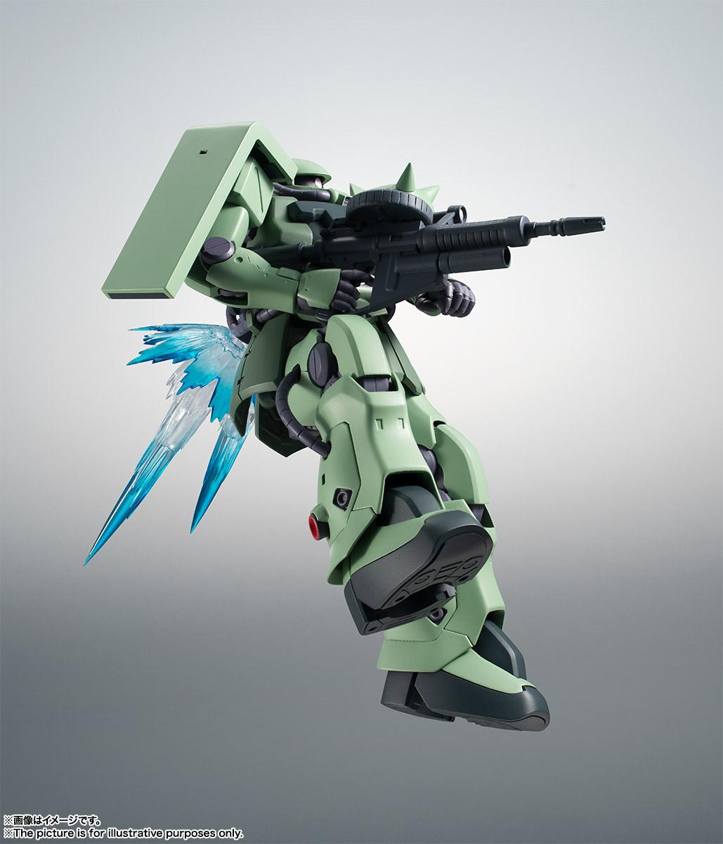 ROBOT魂〈SIDE MS〉『MS-06F-2 ザクII F2型 ver. A.N.I.M.E.』機動戦士ガンダム0083 可動フィギュア-012