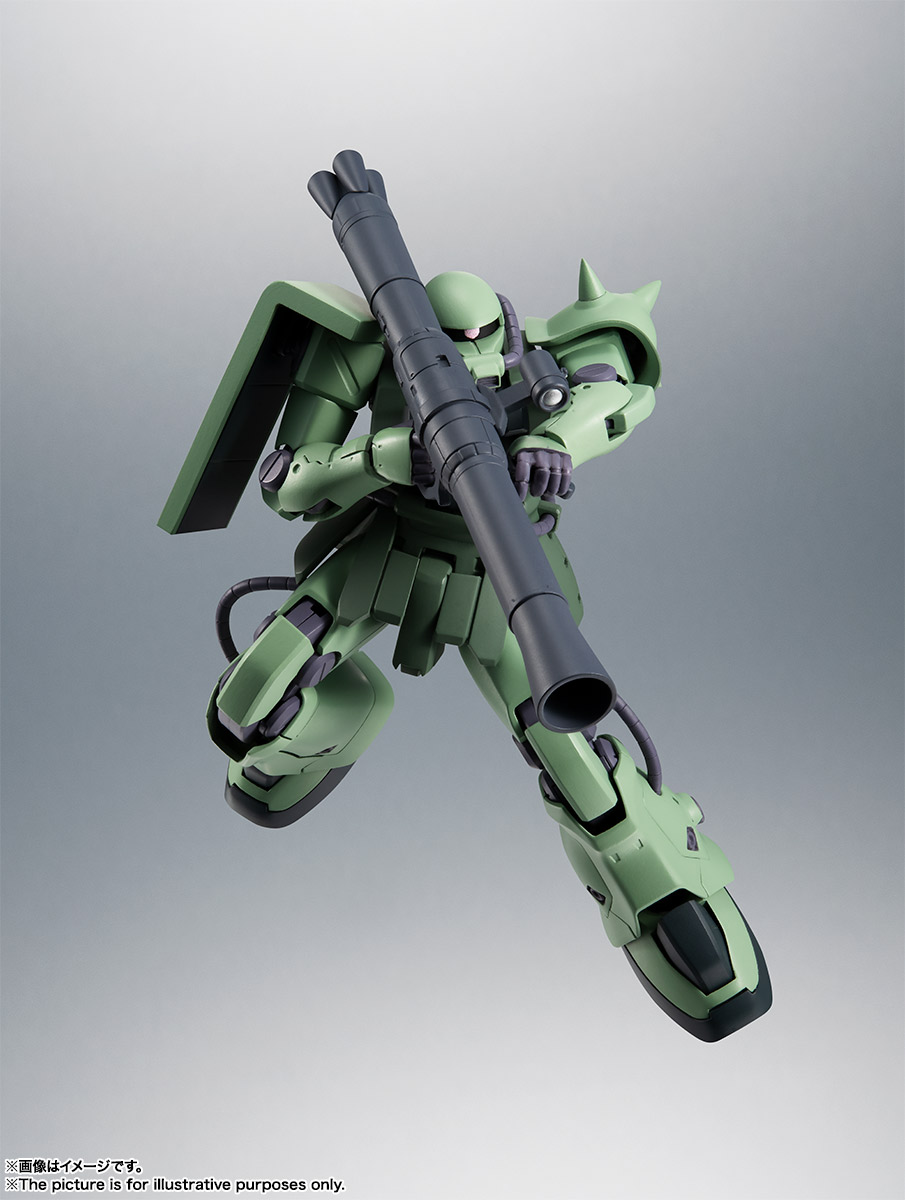 ROBOT魂〈SIDE MS〉『MS-06F-2 ザクII F2型 ver. A.N.I.M.E.』機動戦士ガンダム0083 可動フィギュア-014