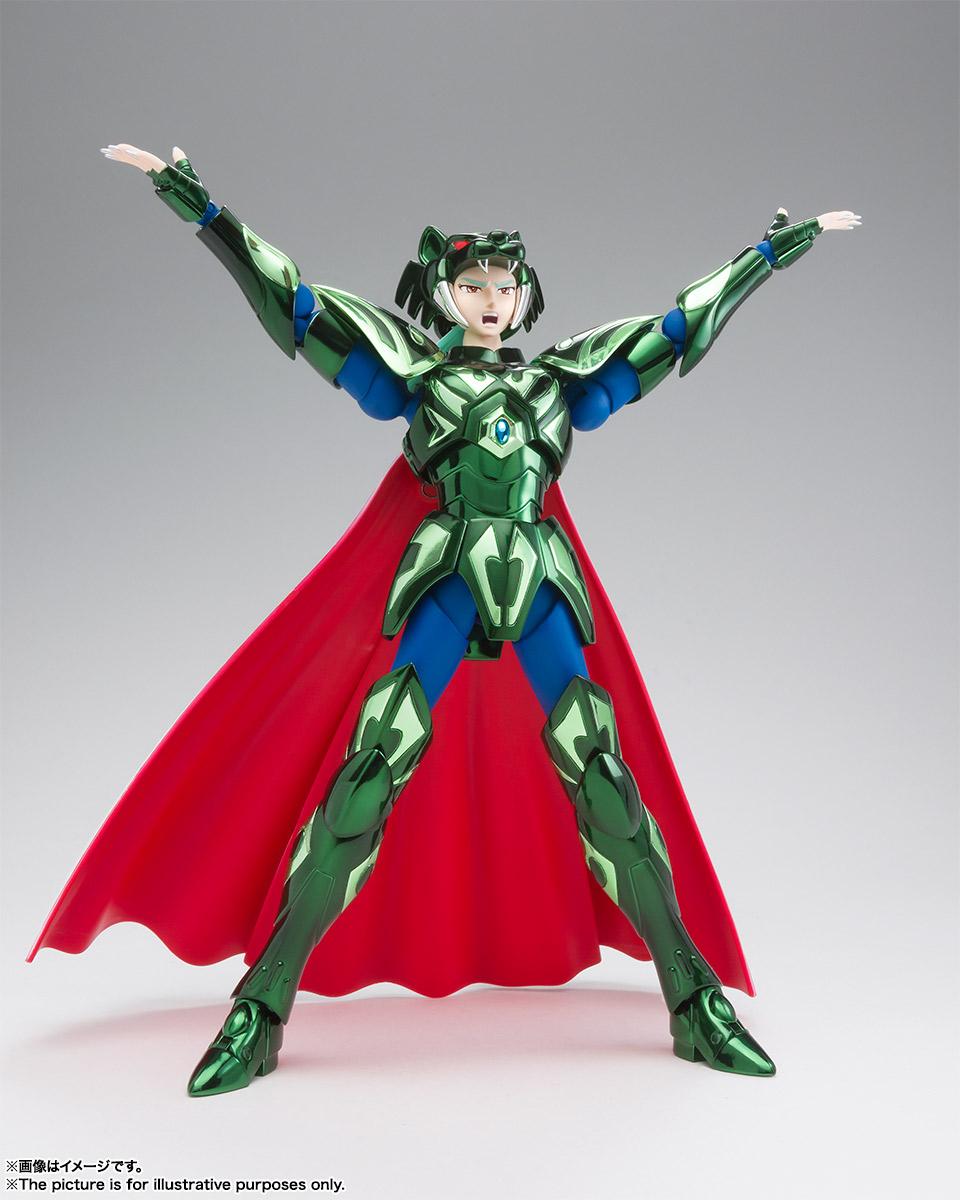 聖闘士聖衣神話EX『ゼータ星ミザールシド』聖闘士星矢 可動フィギュア-004