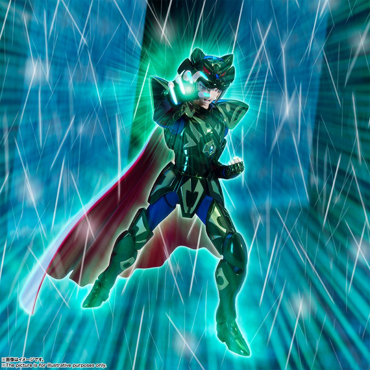 聖闘士聖衣神話EX『ゼータ星ミザールシド』聖闘士星矢 可動フィギュア-010
