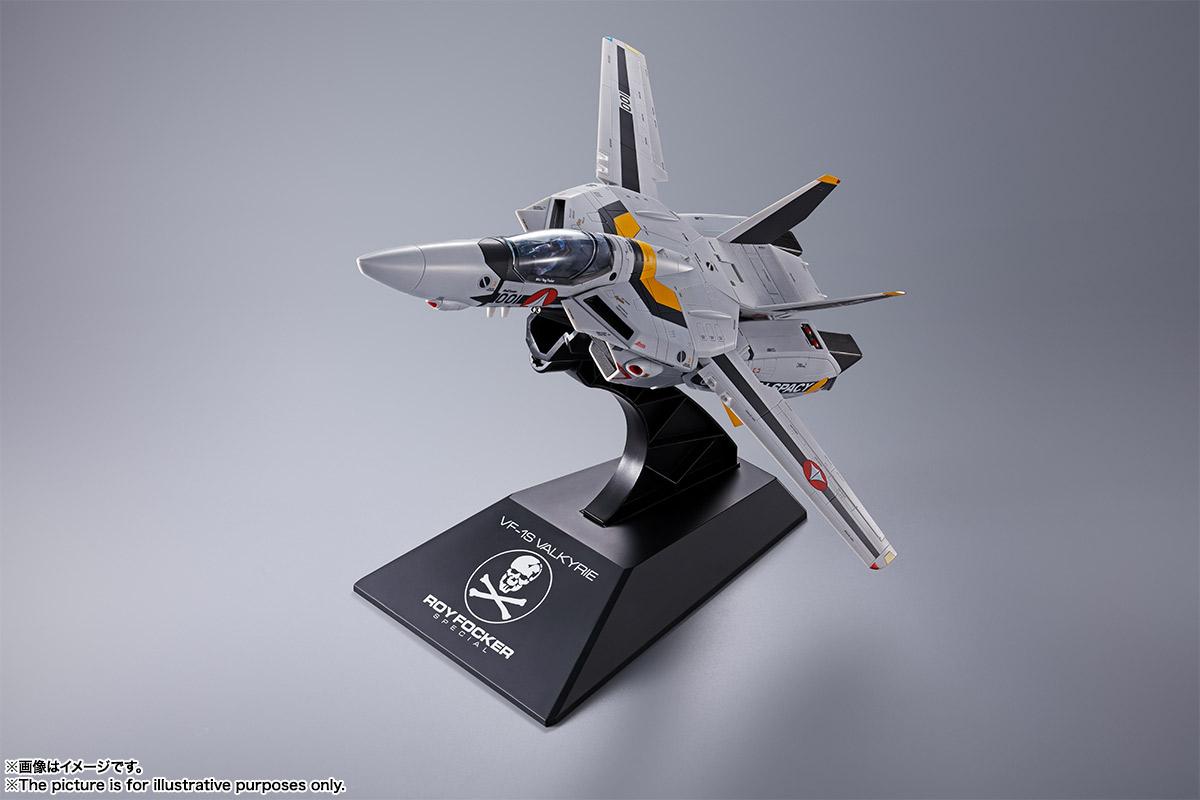 【初回限定版】DX超合金『VF-1S バルキリー ロイ・フォッカースペシャル』超時空要塞マクロス 可変可動フィギュア-002