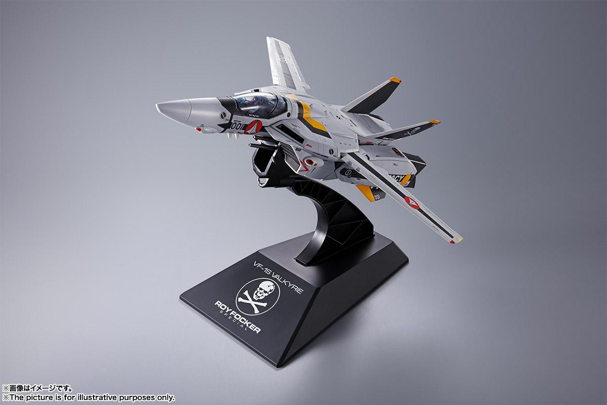 【初回限定版】DX超合金『VF-1S バルキリー ロイ・フォッカースペシャル』超時空要塞マクロス 可変可動フィギュア-003