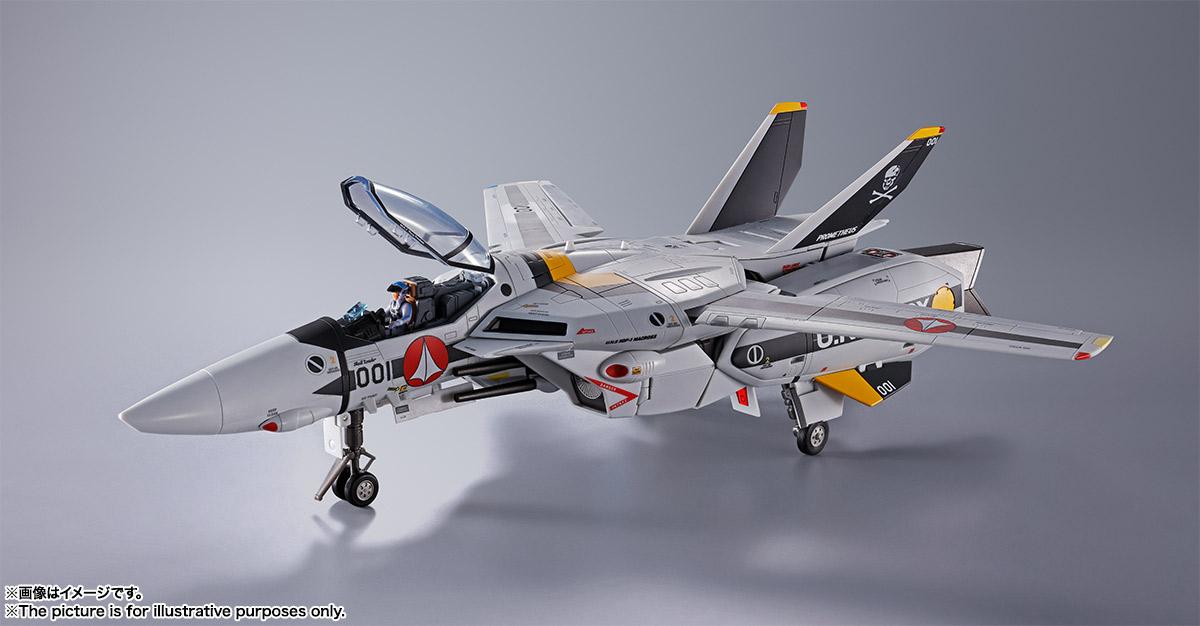【初回限定版】DX超合金『VF-1S バルキリー ロイ・フォッカースペシャル』超時空要塞マクロス 可変可動フィギュア-004