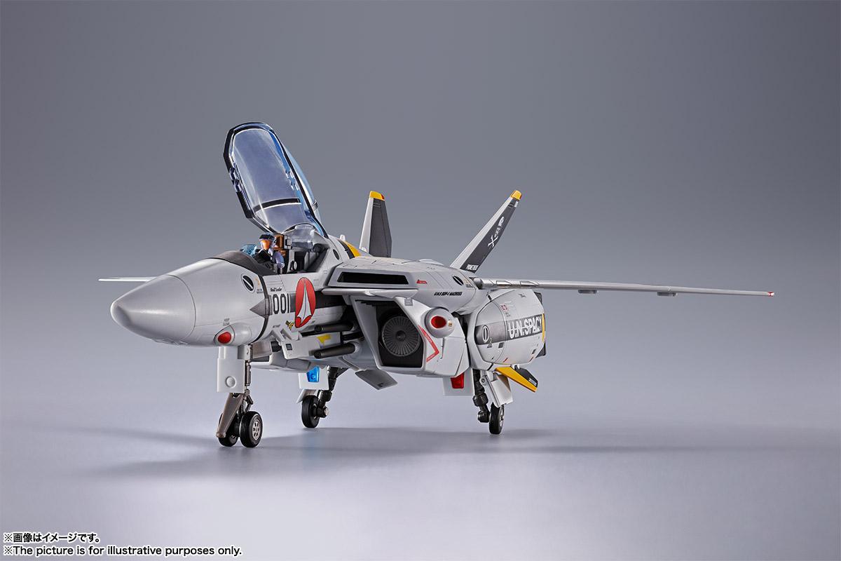 【初回限定版】DX超合金『VF-1S バルキリー ロイ・フォッカースペシャル』超時空要塞マクロス 可変可動フィギュア-005
