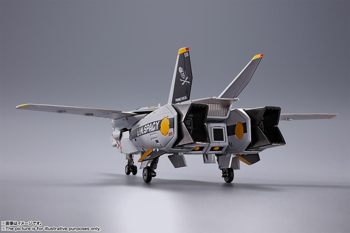【初回限定版】DX超合金『VF-1S バルキリー ロイ・フォッカースペシャル』超時空要塞マクロス 可変可動フィギュア-006