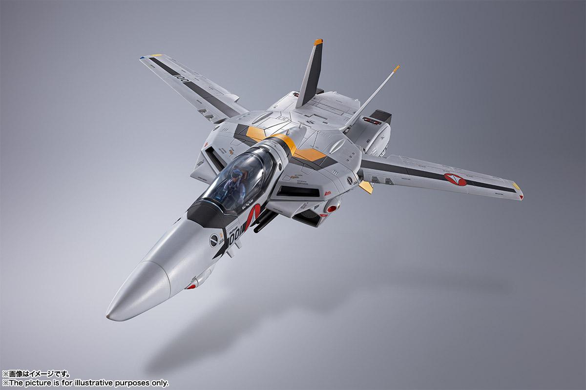 【初回限定版】DX超合金『VF-1S バルキリー ロイ・フォッカースペシャル』超時空要塞マクロス 可変可動フィギュア-007