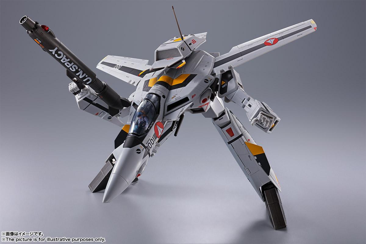 【初回限定版】DX超合金『VF-1S バルキリー ロイ・フォッカースペシャル』超時空要塞マクロス 可変可動フィギュア-008