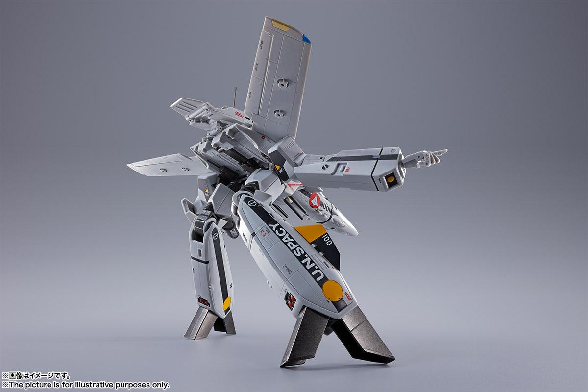 【初回限定版】DX超合金『VF-1S バルキリー ロイ・フォッカースペシャル』超時空要塞マクロス 可変可動フィギュア-009