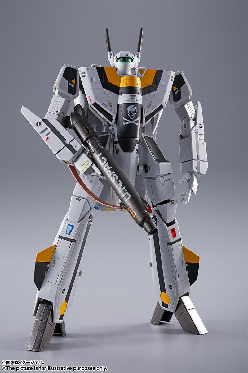 【初回限定版】DX超合金『VF-1S バルキリー ロイ・フォッカースペシャル』超時空要塞マクロス 可変可動フィギュア-011