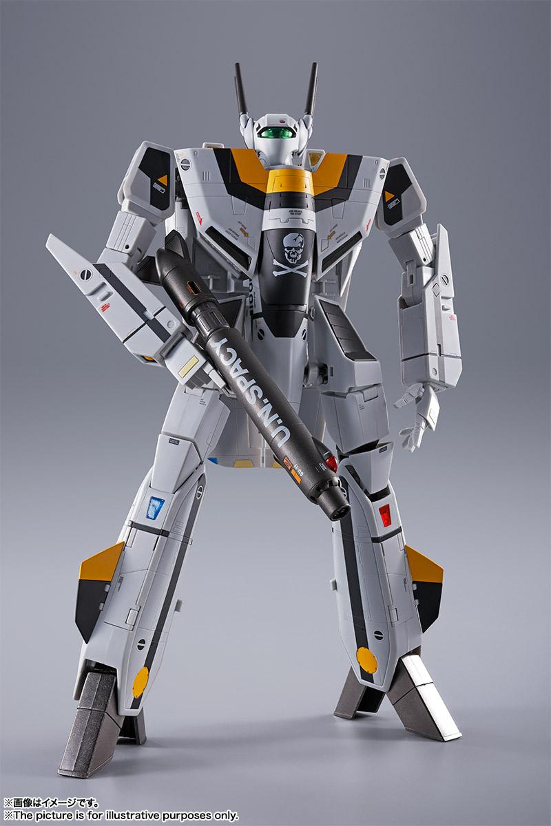 【初回限定版】DX超合金『VF-1S バルキリー ロイ・フォッカースペシャル』超時空要塞マクロス 可変可動フィギュア-012