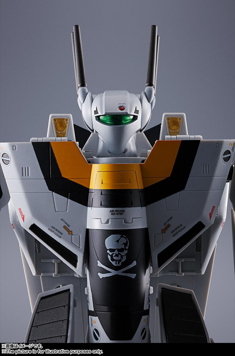 【初回限定版】DX超合金『VF-1S バルキリー ロイ・フォッカースペシャル』超時空要塞マクロス 可変可動フィギュア-014
