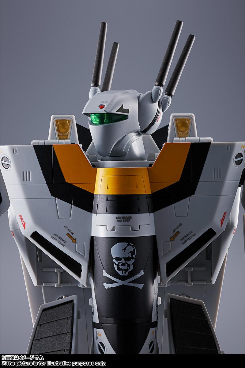 【初回限定版】DX超合金『VF-1S バルキリー ロイ・フォッカースペシャル』超時空要塞マクロス 可変可動フィギュア-015