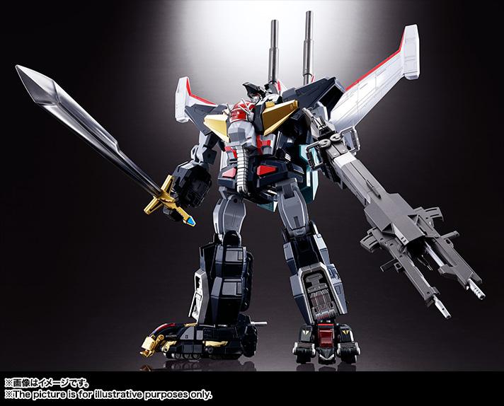 【再販】超合金魂 GX-13R『超獣機神ダンクーガ(リニューアルバージョン)』可変合体フィギュア-001
