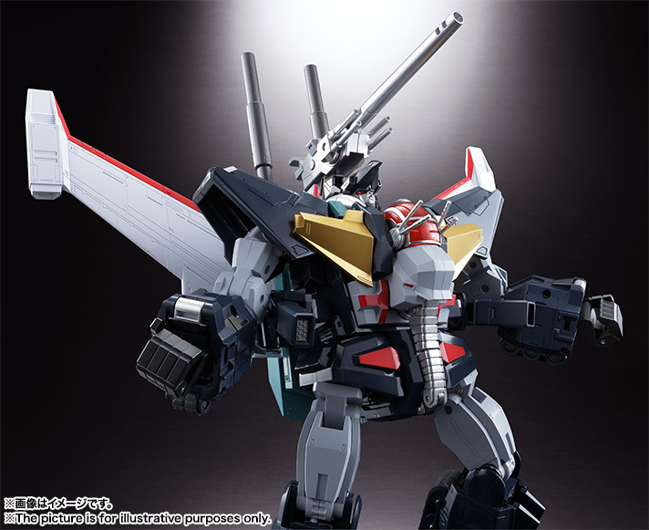 【再販】超合金魂 GX-13R『超獣機神ダンクーガ(リニューアルバージョン)』可変合体フィギュア-006