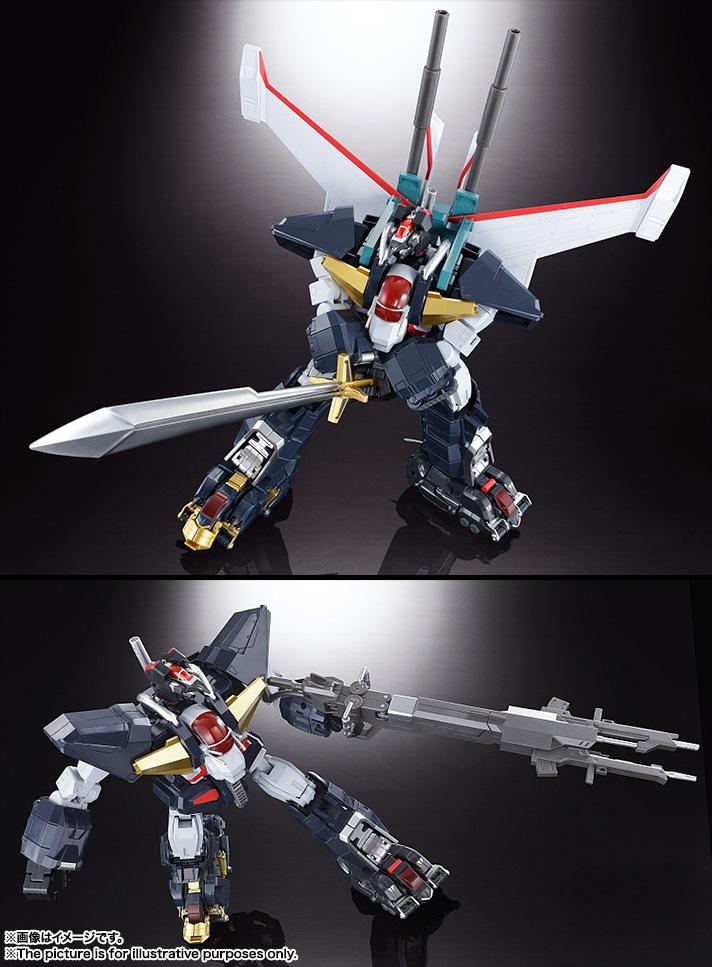 【再販】超合金魂 GX-13R『超獣機神ダンクーガ(リニューアルバージョン)』可変合体フィギュア-008