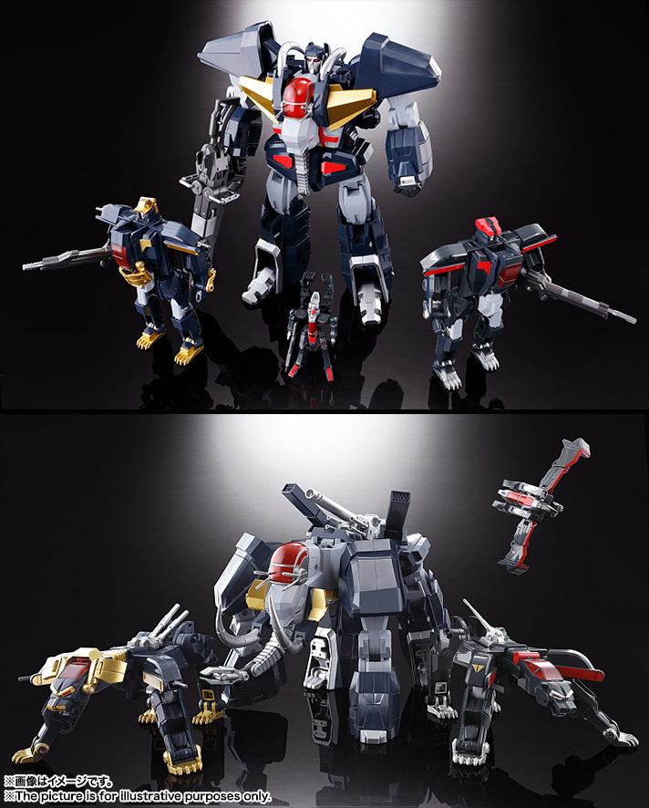 【再販】超合金魂 GX-13R『超獣機神ダンクーガ(リニューアルバージョン)』可変合体フィギュア-009