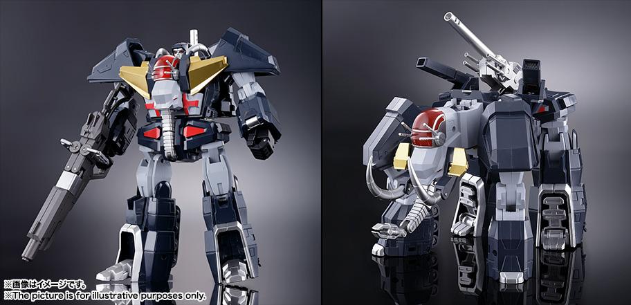 【再販】超合金魂 GX-13R『超獣機神ダンクーガ(リニューアルバージョン)』可変合体フィギュア-010