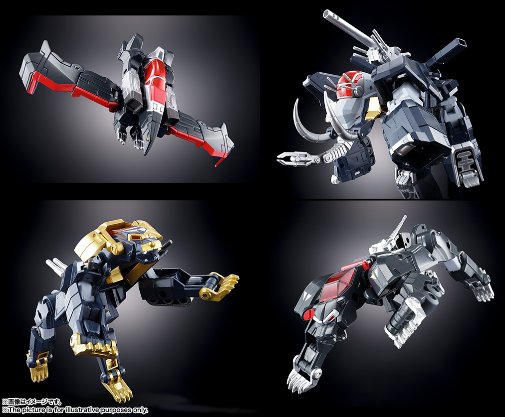 【再販】超合金魂 GX-13R『超獣機神ダンクーガ(リニューアルバージョン)』可変合体フィギュア-012