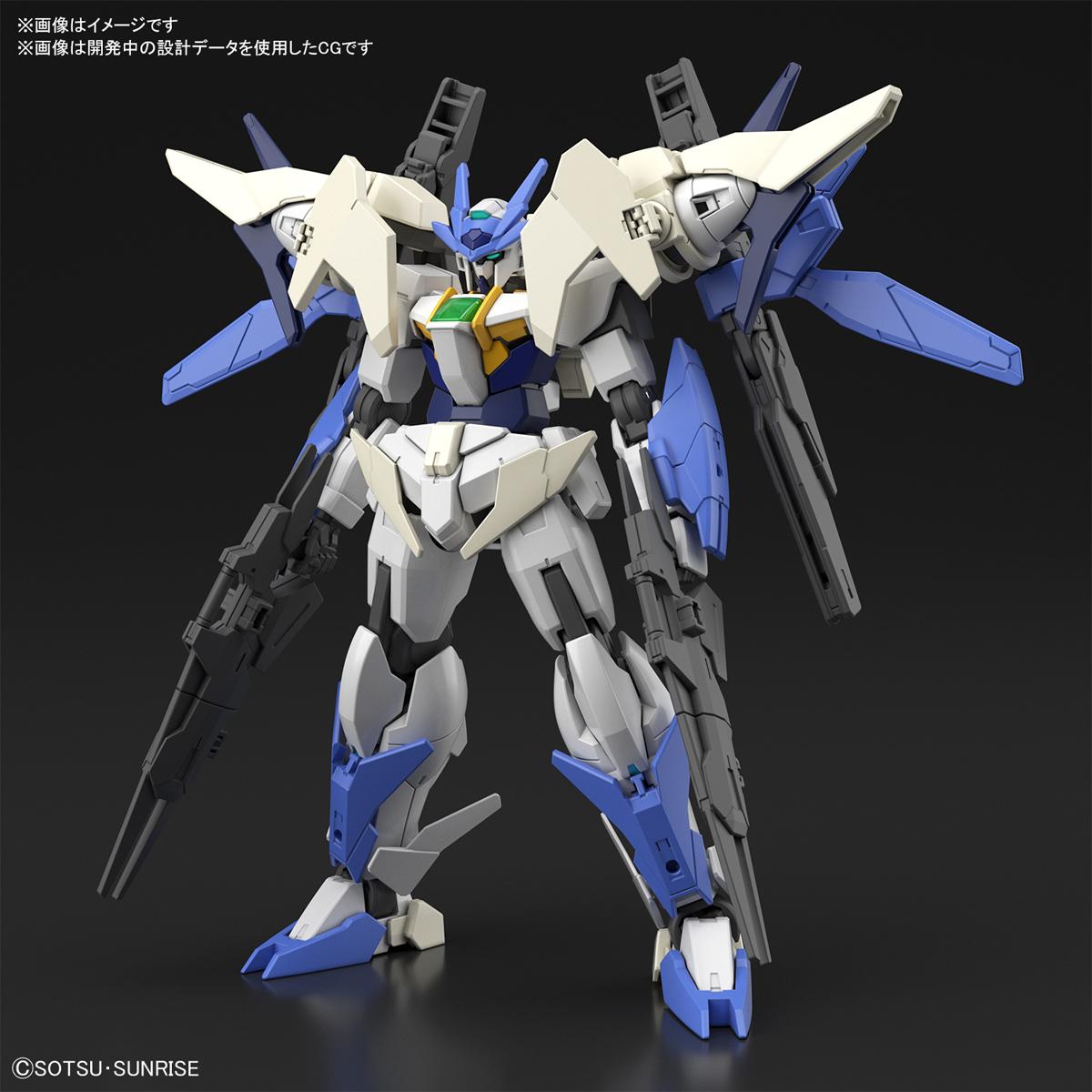 HGBD:R 1/144『ダブルオーガンダム系新機体』ガンダムビルドダイバーズRe:RISE プラモデル-001