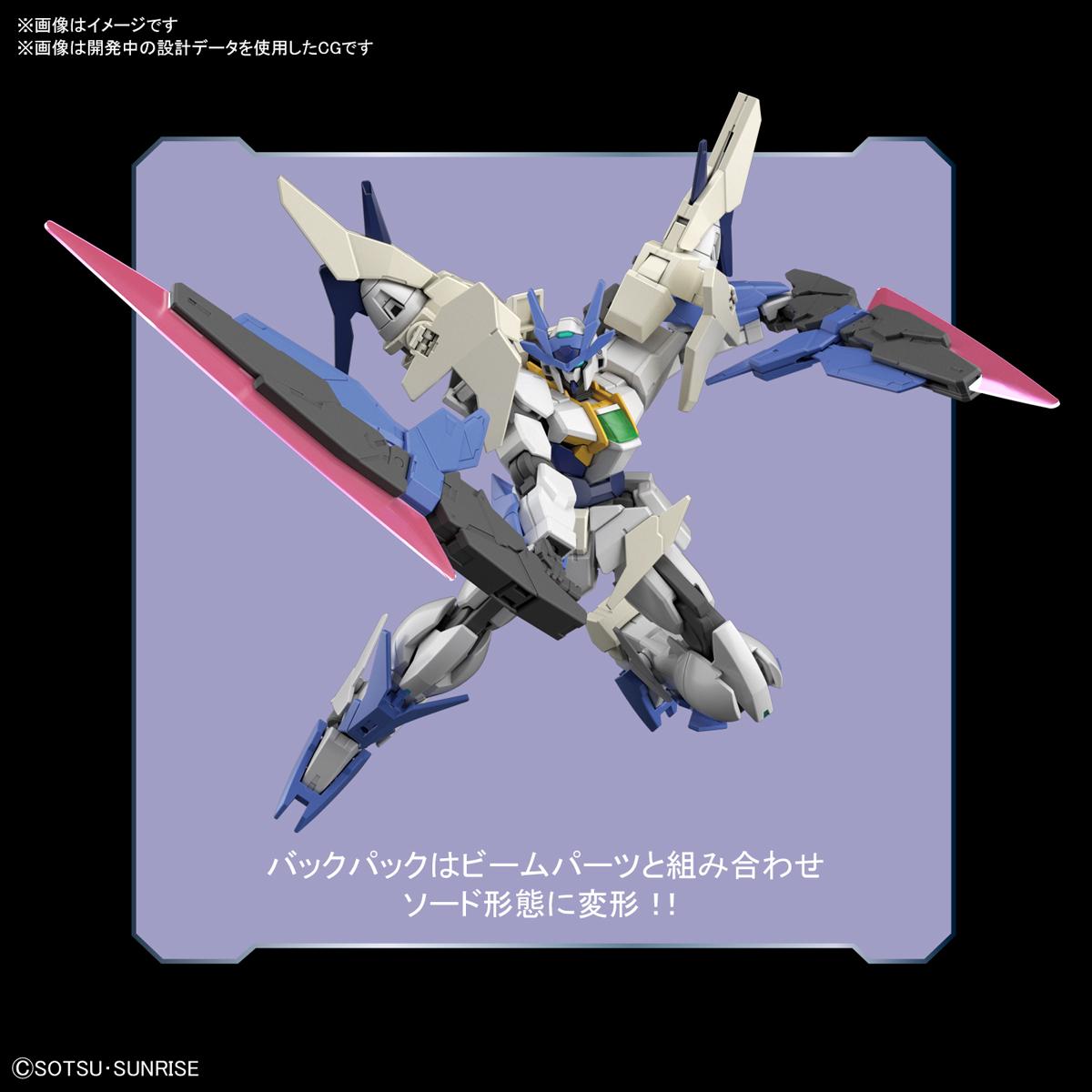 HGBD:R 1/144『ダブルオーガンダム系新機体』ガンダムビルドダイバーズRe:RISE プラモデル-004