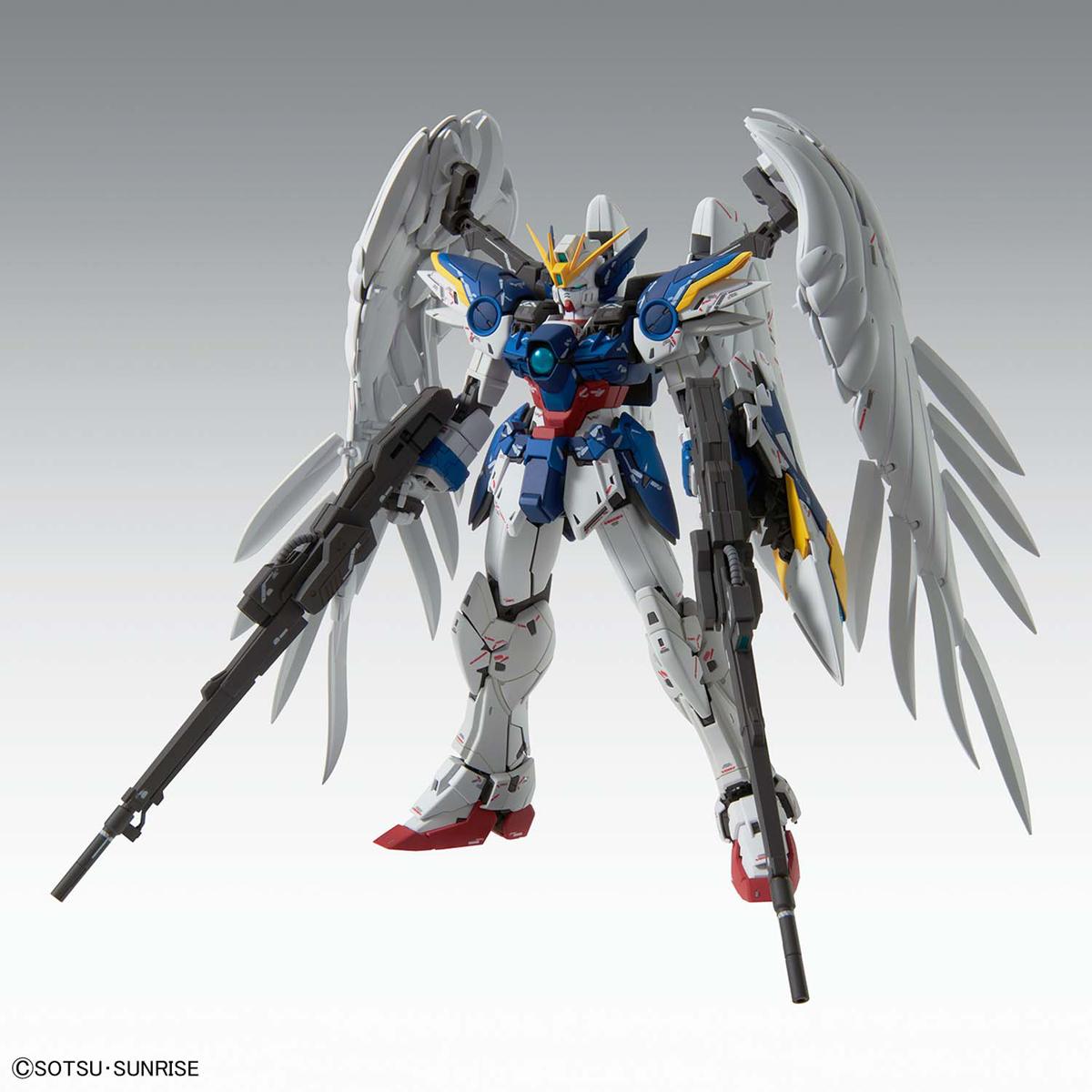 MG 1/100『ウイングガンダムゼロEW Ver.Ka』ガンダムW プラモデル-001