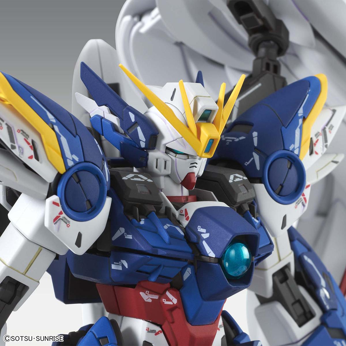 MG 1/100『ウイングガンダムゼロEW Ver.Ka』ガンダムW プラモデル-009