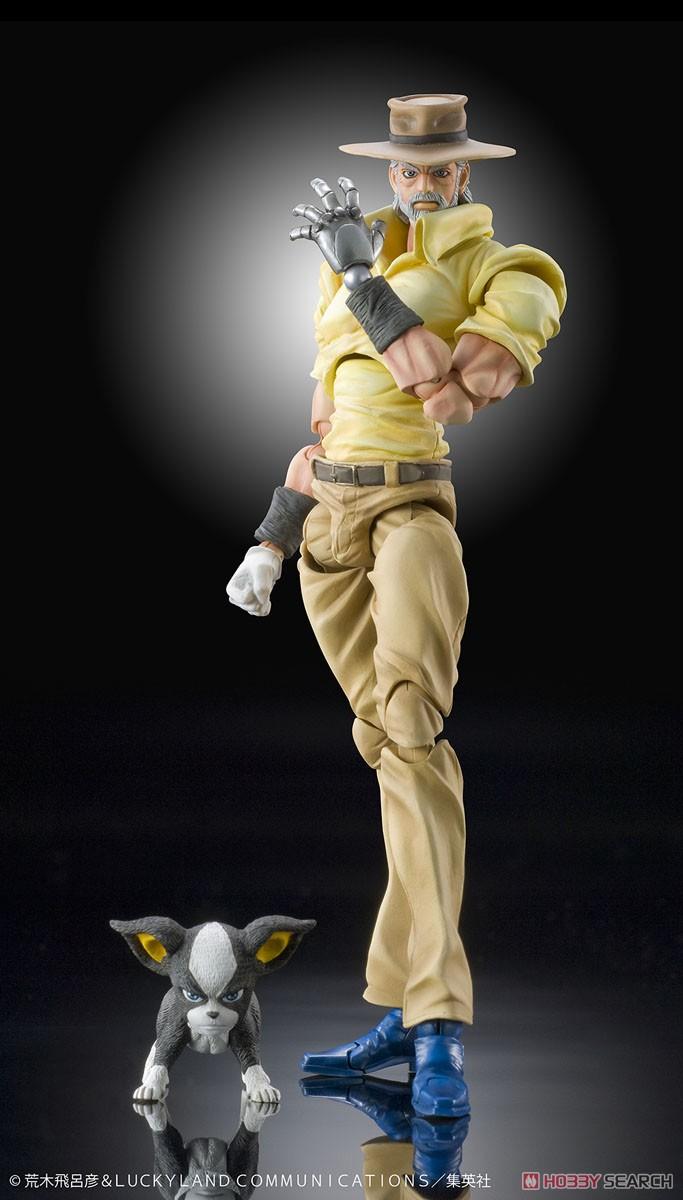 【再販】超像可動『ジョセフ・ジョースター&イギー』スターダストクルセイダース 可動フィギュア-008