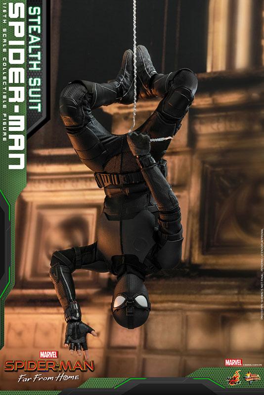 ムービー・マスターピース『スパイダーマン ステルススーツ版』Far From Home 1/6 可動フィギュア-008