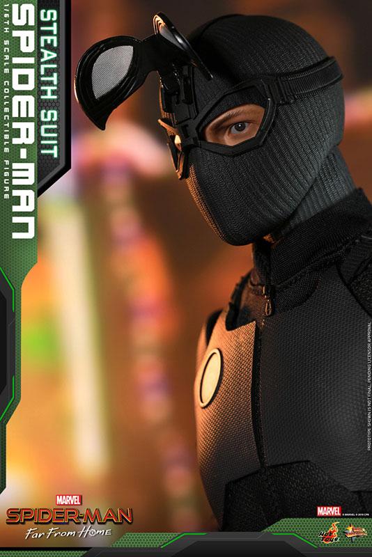 ムービー・マスターピース『スパイダーマン ステルススーツ版』Far From Home 1/6 可動フィギュア-009