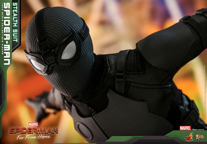 ムービー・マスターピース『スパイダーマン ステルススーツ版』Far From Home 1/6 可動フィギュア-012