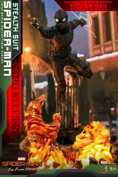 ムービー・マスターピース『スパイダーマン ステルススーツ DX版』Far From Home 1/6 可動フィギュア