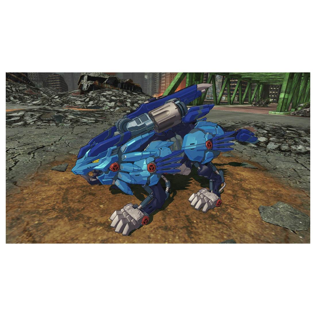 ゾイドワイルド『ZW36IB ライジングライガー インフィニティブルー』組み立て可動フィギュア「ゾイドワイルド インフィニティブラスト」セット-006