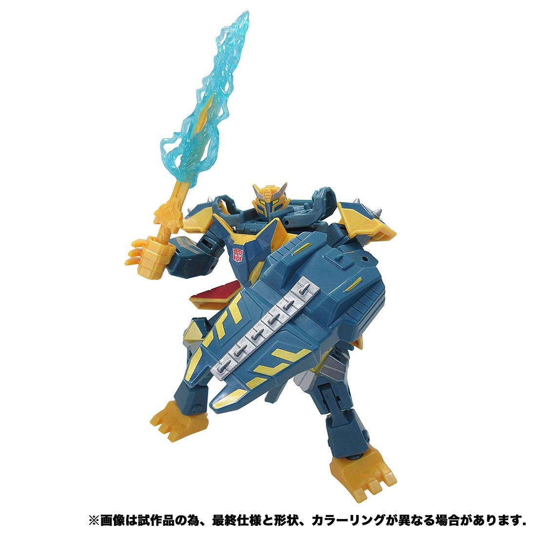 【限定販売】サイバーバース アクションマスター07『アーシー』トランスフォーマー 可変可動フィギュア-006