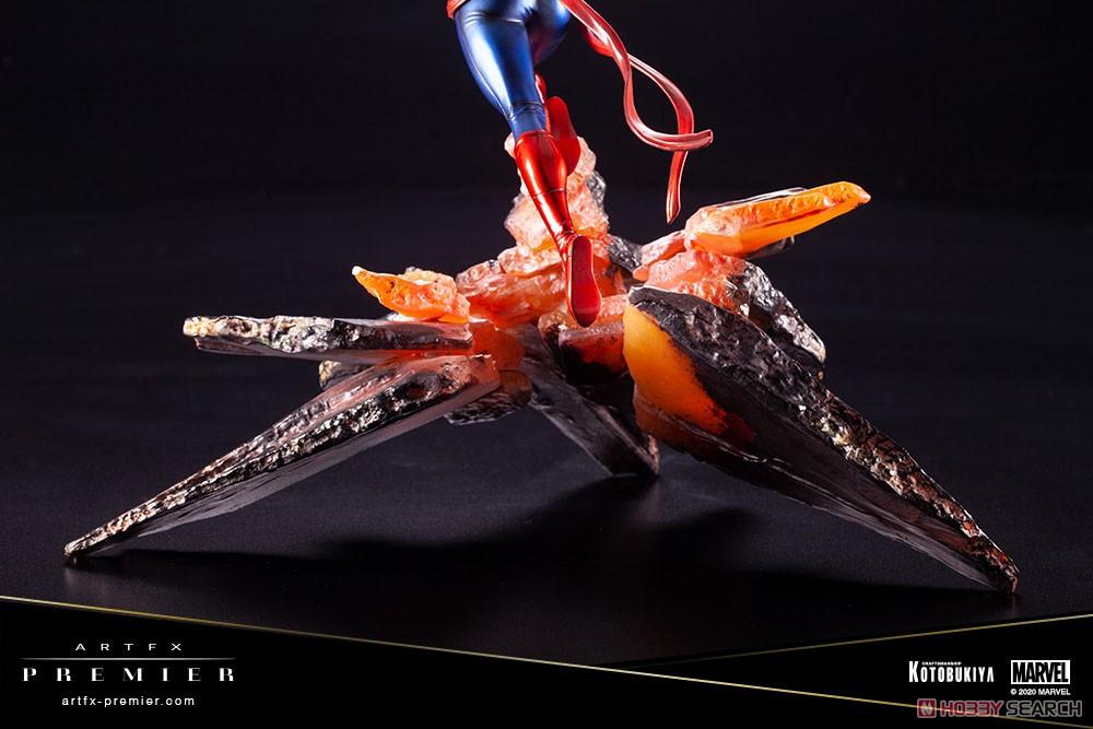 ARTFX PREMIER『キャプテン・マーベル』MARVEL UNIVERSE 1/10 簡易組立キット-018