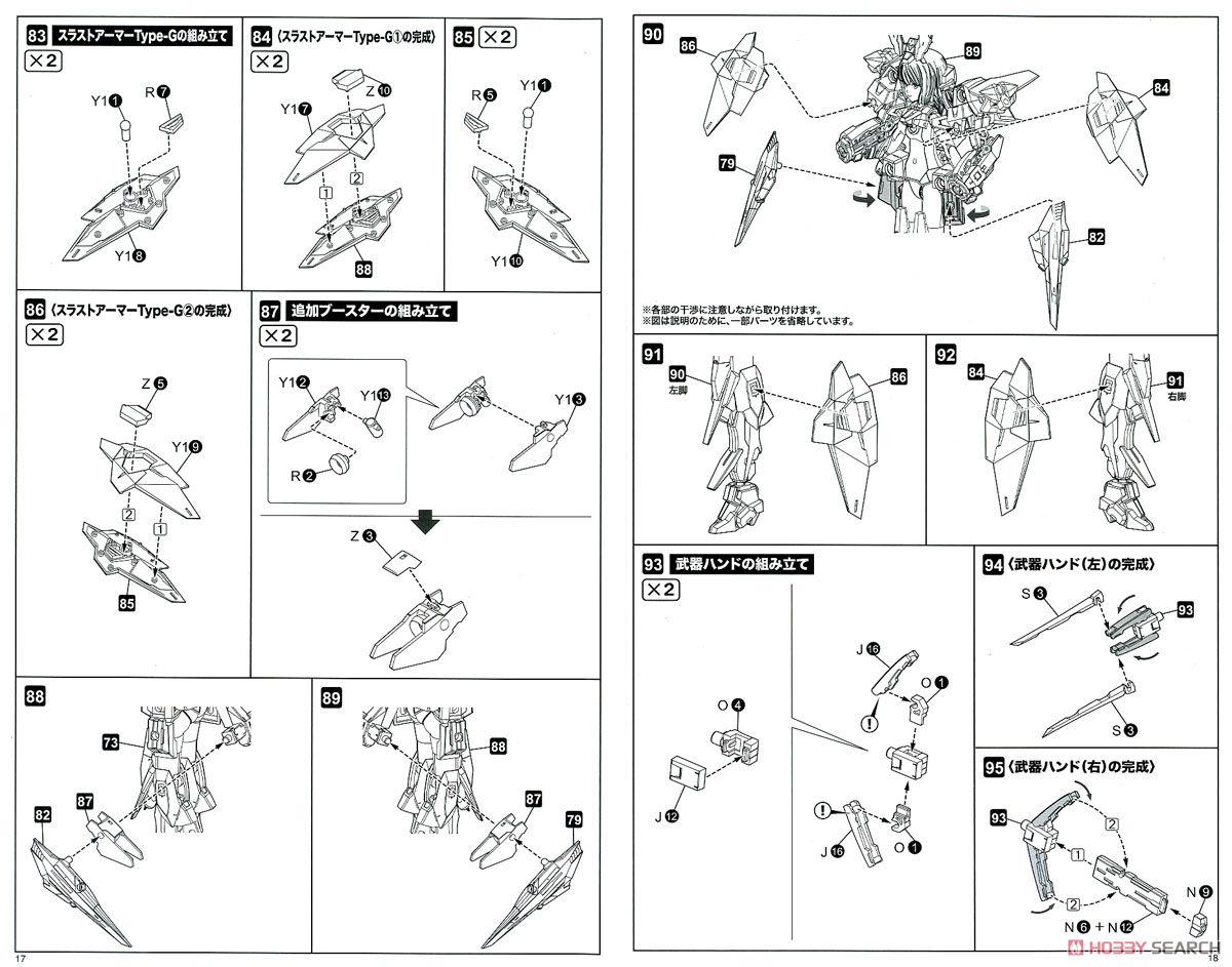 【再販】フレームアームズ・ガール『ゼルフィカール』プラモデル-031