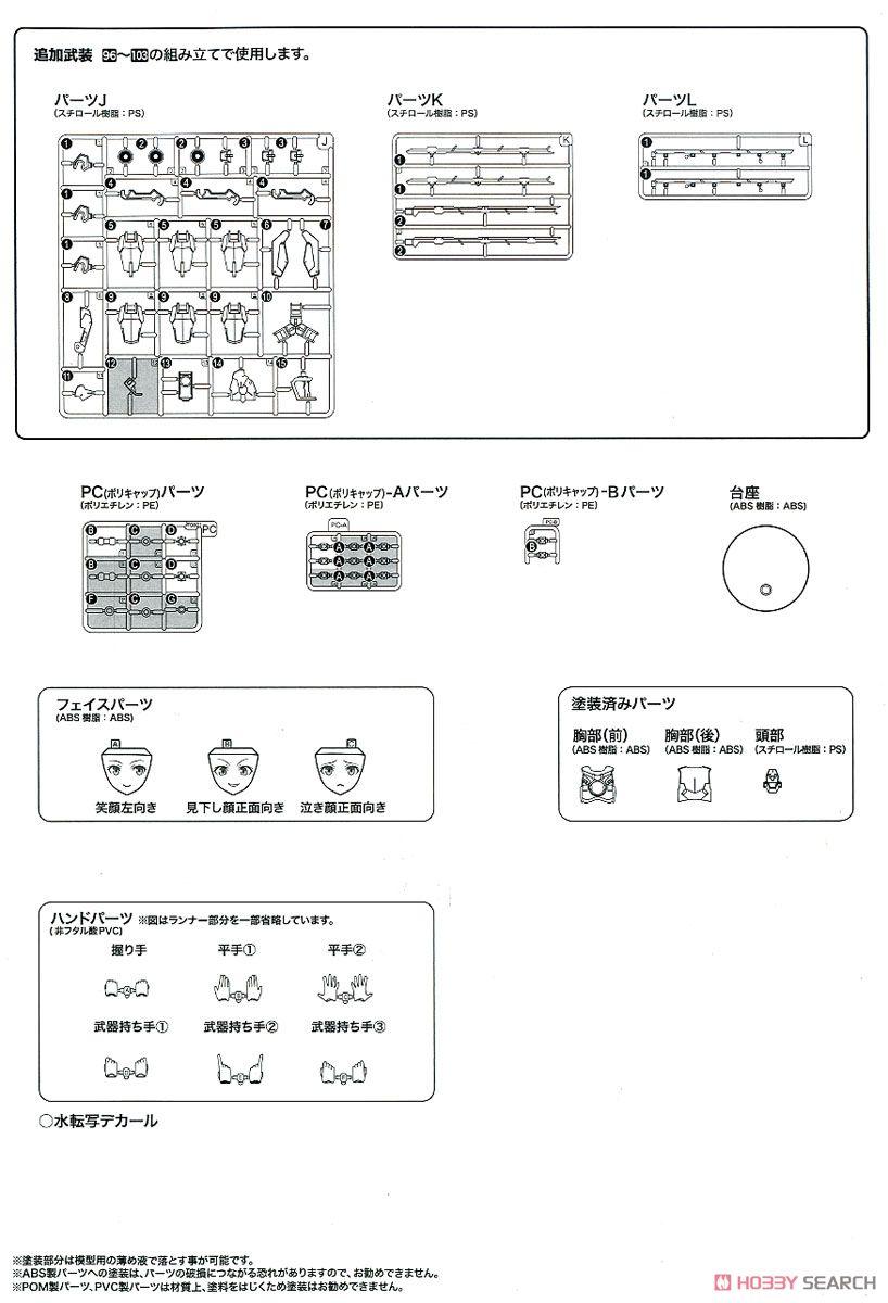 【再販】フレームアームズ・ガール『ゼルフィカール』プラモデル-038