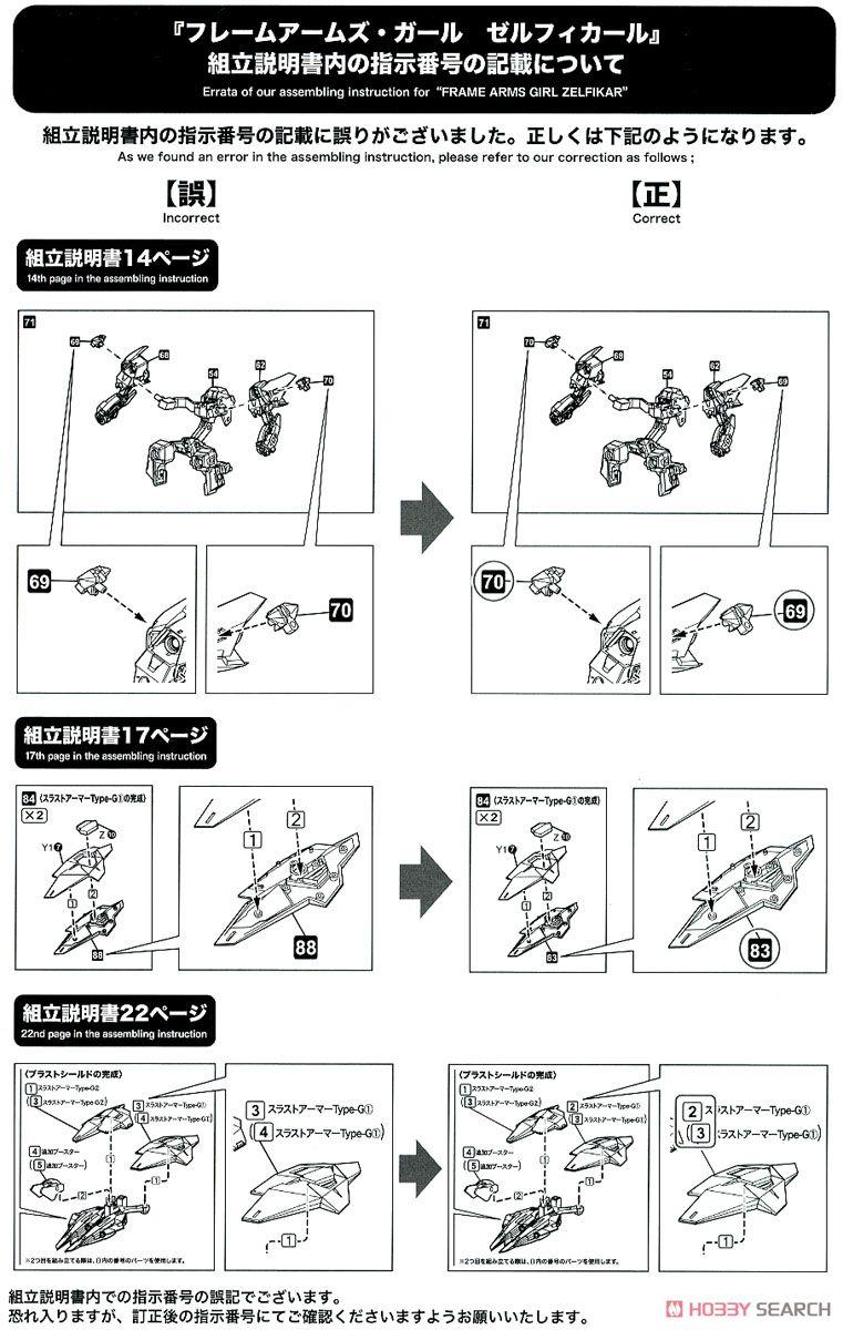 【再販】フレームアームズ・ガール『ゼルフィカール』プラモデル-039