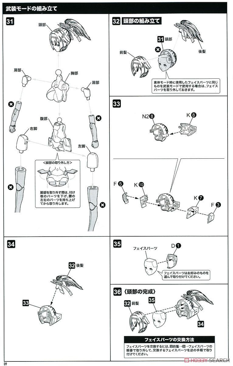 【再販】メガミデバイス『朱羅 弓兵』1/1 プラモデル-033