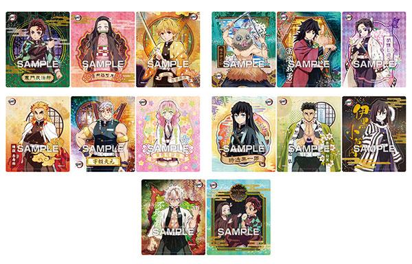 【食玩】鬼滅の刃『マグネットコレクションガム』14個入りBOX-006